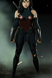 240x320 Wonder Woman New 4k