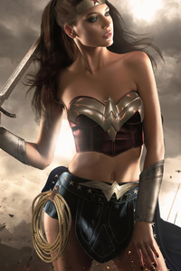 640x960 Wonder Woman New Cosplay 2020