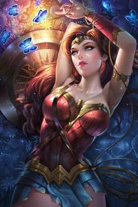 320x480 Wonder Woman New Cute Art