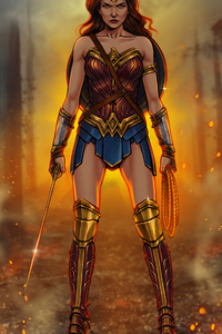 Wonder Woman New Digital Artwork