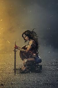 Wonder Woman Oath 4k