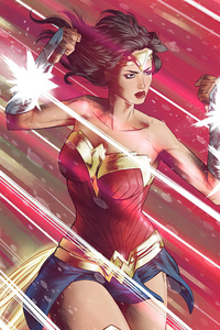 Wonder Woman Power Art 4k