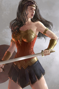 Wonder Woman Side