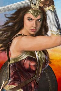 Wonder Woman Sketch Arts