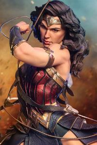 Wonder Woman Statue Art