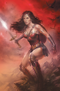 Wonder Woman Sword Artwork