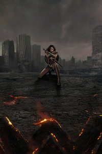 Wonder Woman The Warrior Of Justice League 5k