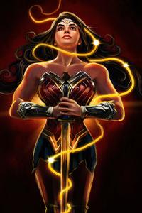 Wonder Woman Up 4k