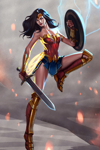 Wonder Woman Up