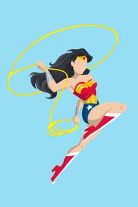 Wonder Woman Vector Style