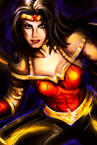 Wonder Woman Warrior 4k