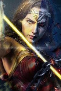 Wonder Woman Witching Time 4k