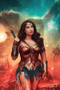 720x1280 Wonder Woman Zsjl Cosplay