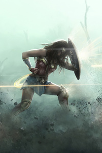 360x640 Wonder Woman2020 Artwork