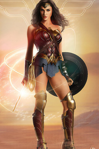 640x1136 Wonder WomanArt