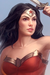 Wonder Women Comic Book Artwork