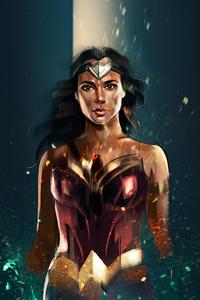 320x480 Wonderwoman 4kart