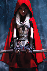 1440x2960 Woolfe The Red Hood Diaries