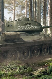 800x1280 World Of Tanks 3