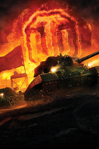 1080x2160 World Of Tanks Games