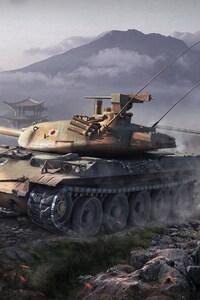 1080x1920 World Of Tanks Japanese Tanks