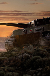 1080x2160 World Of Tanks Video Game