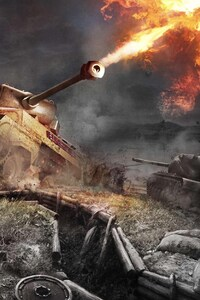 1080x2160 World Of Tanks Xbox
