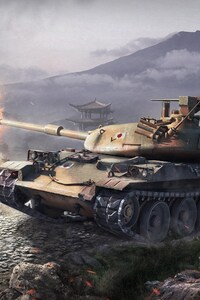 480x800 World Of Tanks