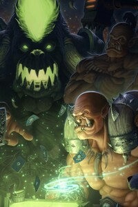 320x480 World Of Warcraft Characters