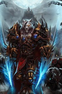 1080x1920 World Of Warcraft Worgen Character