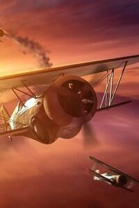 1080x2160 World Of Warplanes HD