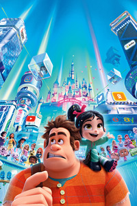 2160x3840 Wreck It Ralph 2 2018 Official Poster 8k
