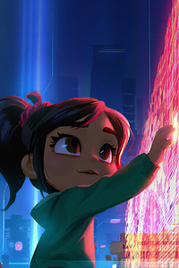 1080x2160 Wreck It Ralph 2 Movie
