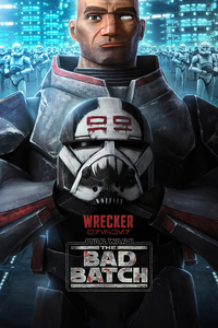 Wrecker Star Wars The Bad Batch 4k