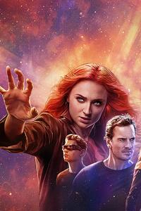 640x960 X Men Dark Phoenix 4k 2019 Poster