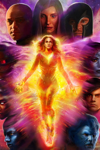 X Men Dark Phoenix 4k Artworks