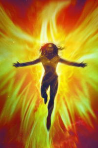 800x1280 X Men Dark Phoenix Fan Art 4k