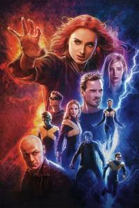X Men Dark Phoenix Poster 4k