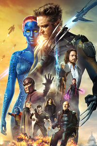 X Men Days Of Future Past Movie Poster