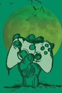 1125x2436 Xbox 360 Minimalism