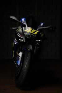 1440x2960 Yamaha R1 Valentino Rossi Bike 5k