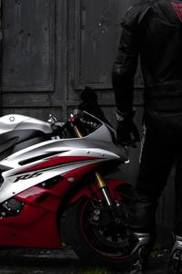 Yamaha R6 Rider