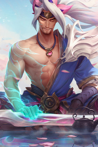 1440x2960 Yasuo League Of Legends Art 4k