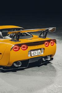 480x800 Yellow Corvette C5 4k