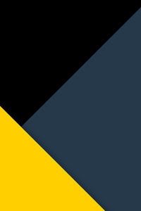 1440x2960 Yellow Dark Minimal Abstract 5k