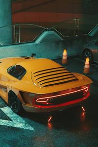 800x1280 Yellow Dodge Viper Kit
