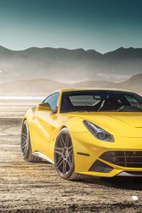 360x640 Yellow Ferrari F12