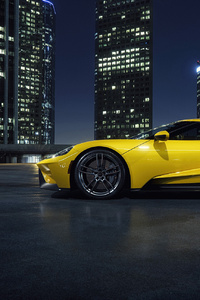1080x2280 Yellow Ford Gt