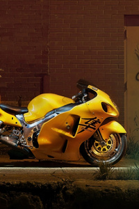320x568 Yellow Hayabusa 4k
