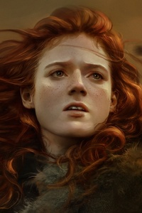 800x1280 Ygritte Rose Leslie Game Of Thrones Artwork